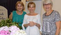 Bea d'Halewyn, Rose Galfione, Aracely Nicolini.