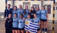 Selección sub 16 de handball femenino