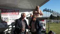 En Expo Melilla remató Urchitano con Santader. Foto: Pablo Mestre