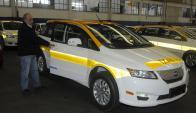 El próximo viernes los nuevos taxis eléctricos serán exhibidos en público. Foto: A. Colmegna
