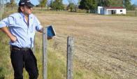 Aquiles Winz, uno de los que lucha por la supervivencia de la localidad. Foto: El País