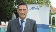 """Alonso, presidente de BBVA """"ve escenario más complicado""""."""