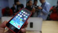 Smartphone. Serán, junto a los televisores inteligentes, los que liderarán el crecimiento tecnológico. (Foto: AFP)