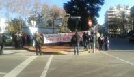 Manifestación de Plenaria, Memoria y Justicia contra la salida transitoria de Gavazzo, 21 de junio de 2015. Foto: Mateo Vázquez