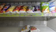 Paro sindical afectó la distribución de leche. Foto: Archivo.