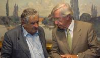 Mujica y Astori compartieron el gobierno anterior; ahora están enfrentados por Ancap. Foto: F. Ponzetto