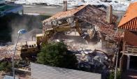 Demolición de Mariskonea. Foto: Ricardo Figueredo