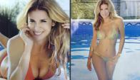 Flavia Palmiero dice que no tiene problemas en mostrar su cuerpo (Fotos: Gente)