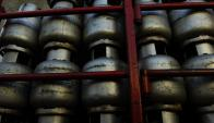 La salida de garrafas está momentáneamente bloqueada. Foto: Archivo El País.