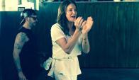 Caitlyn Jenner en los festejos por la legalización del matrimonio gay en EEUU. Foto: Instagram.
