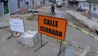 Vecinos piden a la IMM que imponga seguridad pero con acceso a las casas. Foto: F.Ponzetto.