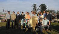Caorsi festejó con familia y amigos el histórico hecho. Foto: A.Colmegna.