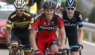El italiano Alessandro De Marchi es el ganador de la decimocuarta etapa. Foto: Agencia EFE