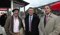 Carlos M. Uriarte y Ricardo Reilly en la Expo Palermo. Foto: Pablo D. Mestre