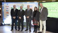 Néstor Bagnasco, Jorge Ginel, Miguel Penengo, Teresa Cometto, Gabriel González.