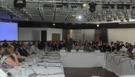 Foro con organismos internacionales. Foto: Francisco Flores