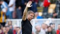 Frank De Boer se despidió de Crystal Palace. Foto: Reuters