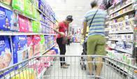 Inflación: consultados proyectan que terminará este año en 6,7% y en 7,4% el próximo. Foto: D. Borrelli: