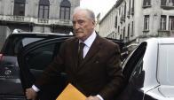 """Figueredo señaló que """"no es cierto"""" que Bauzá no le votó un balance de su gestión en Conmebol. Foto: M. Bonjour"""