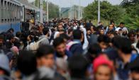 Refugiados. Foto: Reuters