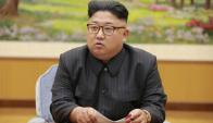 Kim Jong-un. Foto: KCNA vía AFP.