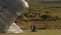 Paracaidismo: el juez Alejandro Martínez de las Heras reconoció que es una actividad de riesgo. Foto: Archivo