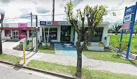 El local Antel que sufrió el robo en San José. Foto: Google Street View