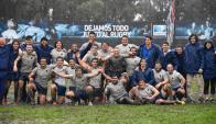 El festejo de Los Teritos al quedarse con el Bronce. Foto: Frankie Deges/World Rugby