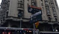 Palacio Salvo: allí está CX 30 Radio Nacional, donde trabajaba Araújo. Foto: F. Ponzetto