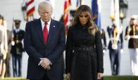 Donald Trump y su esposa, Melania. Foto: Reuters