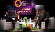 Los economistas Ignacio Munyo, Javier de Haedo e Isaac Alfie. Foto: A. Colmegna
