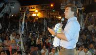 El líder nacionalista en un acto de cara a las elecciones del año 2014. Foto: Archivo