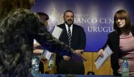 """Bergara explicó que la institución se tomó un tiempo para ver """"qué hacen"""" las fintech. Foto: F. Ponzetto"""