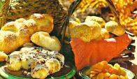 Los panes son ideales para agasajar a familia y amigos.