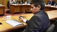 Sendic aseguró que el sábado presentará pruebas ante el Plenario. Foto: F. Ponzetto