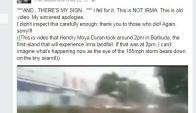 La meteorólogla Jamie Ertle también se confundió compartiendo el video.