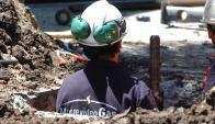 Trabajador del gas. Foto: Darwin Borrelli.