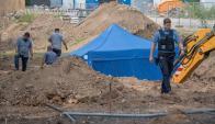 La bomba está próxima a dos hospitales. Foto: AFP