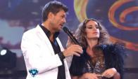 Marcelo Tinelli y Florencia Peña en el Bailando2012