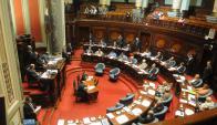 Parlamento: Salario de asesores estatales enfrenta a senadores. Foto: Francisco Flores