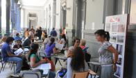Elección de horas docentes. Foto: Ariel Colmegna.
