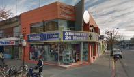 La farmacia Medici III será la quinta que dejará de vender cannabis. Foto: Google Street View.