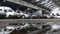 Hasta mañana se exhiben los vehículos en el depósito de Rousseau y Güemes. Foto: F. Ponzetto