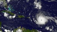 """Huracán Irma es """"extremadamente peligroso"""". Foto: AFP/Nasa/Goes Project"""