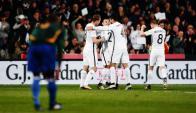 Nueva Zelanda igualó de visitante con Islas Salomón y está en el repechaje. Foto: @NZ_Football