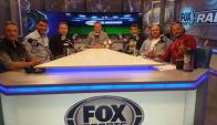 El equipo de Fox Sports Radio Uruguay