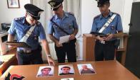 Policías de Italia mantuvieron una entrevista con el procesado Rocco Morabito. Foto: EFE