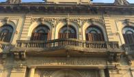 La sede del Centro Unión Obrero de Melo, que nucleó a trabajadores en 1900. Foto: Néstor Araújo