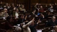 Diputados aprobó el polémico artículo de la Rendición. Foto: Ariel Colmegna