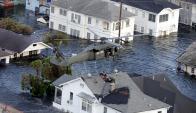 Katrina dejó en evidencia los problemas de Estados Unidos. Foto: AFP